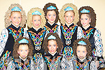 Dancers from Sheila Murphy school of dancing, Killarney who competed in the All Ireland dancing final in the INEC on Sunday front row l-r: Shauna Murphy-Gleeson, Ciara O'Sullivan, Rachel McGillicuddy. Back row: Kayleigh Costello, Sarah godfrey, Marie Lynch, Una O'Connell and Teresa Healy-Rae