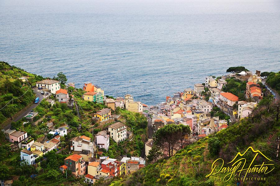 Riomaggiore, Cinque Terra, UNESCO World Heritage Site, Italy