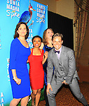 "Kristen Nielsen, Shalita Grant, Genevieve Angelson star iin Broadway's ""Vanya and Sonia and Masha and Spike"" which had its opening night on March 14, 2013 at the Golden Theatre, New York City, New York.  (Photo by Sue Coflin/Max Photos)"