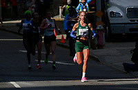 NEW YORK NY - NOVEMBER 03: Gerda Steyn from South Africa competes during the New York City Marathon on New York City on November 03, 2019.  (Photo by Kena Betancur/VIEWpress)