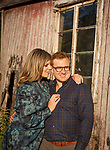 Rebecca and Ryan<br /> Farm Engagement Photography<br /> Pocantico Hills, New York