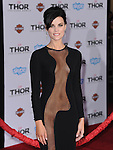 Hollywood, CA - NOVEMBER 04: Jaimie Alexander  arrives to Marvel's  THOR: THE DARK WORLD Premiere held at El Capitan Theatre in Hollywood, California on November 04,2012                                                                               © 2013 Hollywood Press Agency