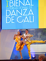 CALI -COLOMBIA-05-11-2013. Lanzamiento primera  Bienal de Danza Internacional / Throwing first International Dance Biennial. Photo: VizzorImage / Juan Carlos Quintero / Stringer
