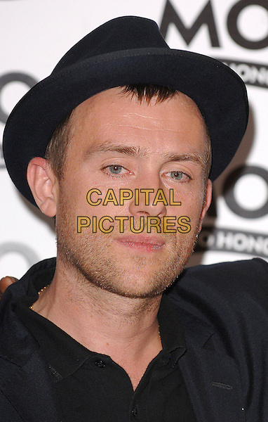 DAMON ALBARN.The MOJO Honours List Ceremony, The Brewery,London, England..June 18th , 2007.headshot portrait black hat stubble facial hair .CAP/BEL.©Belcher/Capital Pictures