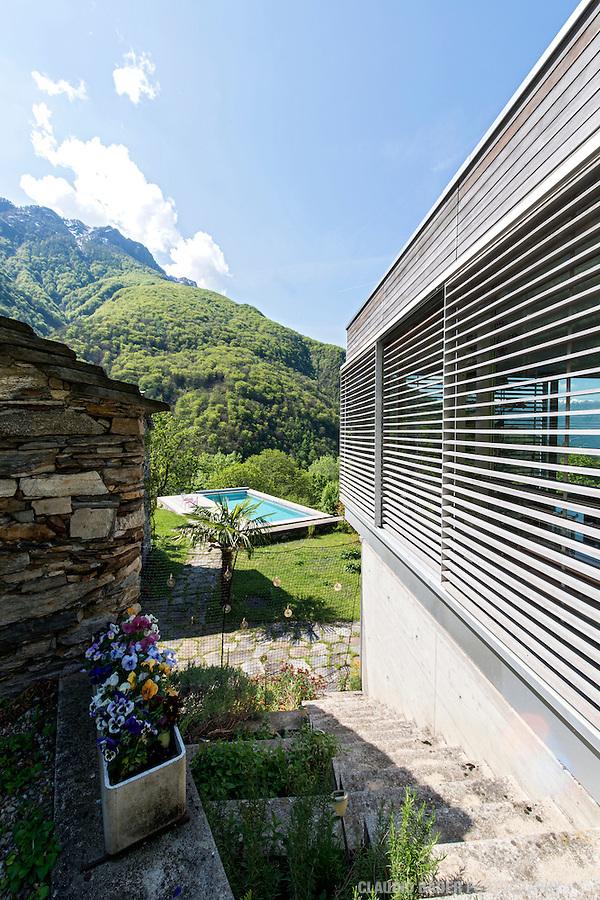 Haus Jakob und Chantal Bill, Pianezzo, Arch. Michele Arnaboldi