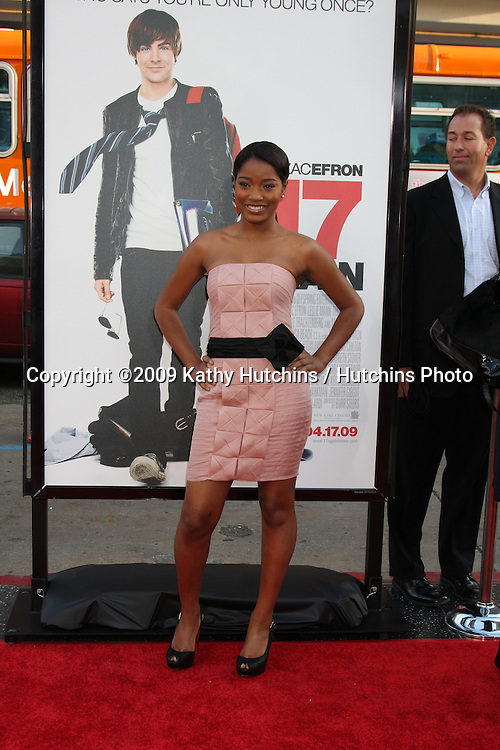 Keke Palmer  arriving at the 17 Again Premiere at Grauman's Chinese Theater in Los Angeles, CA on April 14, 2009.©2009 Kathy Hutchins / Hutchins Photo....                .