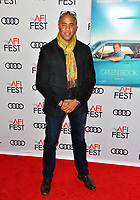 LOS ANGELES, CA. November 09, 2018: Kwame L. Parker at the AFI Fest 2018 world premiere of &quot;Green Book&quot; at the TCL Chinese Theatre.<br /> Picture: Paul Smith/Featureflash