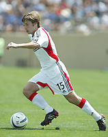 1 May 2004:  DC United Bobby Convey in action against Earthquakes at Spartan Stadium in San Jose, California.  Earthquakes and DC United tied 1-1..Mandatory Credit: Michael Pimentel/ISI