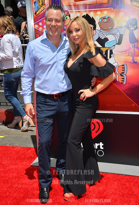 Tara Strong &amp; Craig Strong at the premiere for &quot;Teen Titans Go! to the Movies&quot; at the TCL Chinese Theatre, Los Angeles, USA 22 July 2018<br /> Picture: Paul Smith/Featureflash/SilverHub 0208 004 5359 sales@silverhubmedia.com