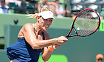 March 26 2017: Angelique Kerber (GER) defeats Shelby Rogers (USA) by 6-4, 7-5, at the Miami Open being played at Crandon Park Tennis Center in Miami, Key Biscayne, Florida. ©Karla Kinne/Tennisclix/Cal Sports Media