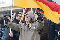"""16-02-06 Rechter """"Bärgida""""-Aufmarsch und Gegenprotest"""