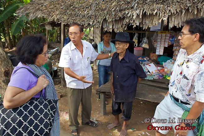 Old Villager With Meoun, Chun & Tan