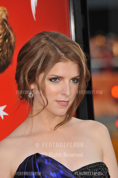 """Anna Kendrick at the world premiere of her new movie """"Scott Pilgrim vs. The World"""" at Grauman's Chinese Theatre, Hollywood..July 27, 2010  Los Angeles, CA.Picture: Paul Smith / Featureflash"""