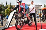 Aafke Soet (NED) WNT Rotor Pro Cycling Team in action during Stage 1 of the Ceratizit Madrid Challenge by La Vuelta 2019 running 9.3km individual time trial around Boadilla del Monte, Spain. 14th September 2019.<br /> Picture: Luis Angel Gomez/Photogomezsport | Cyclefile<br /> <br /> All photos usage must carry mandatory copyright credit (© Cyclefile | Luis Angel Gomez/Photogomezsport)