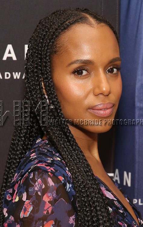 "Kerry Washington attends the Cast photo call for the New Broadway Play ""American Son"" on September 14, 2018 at the New 42nd Street Studios in New York City."