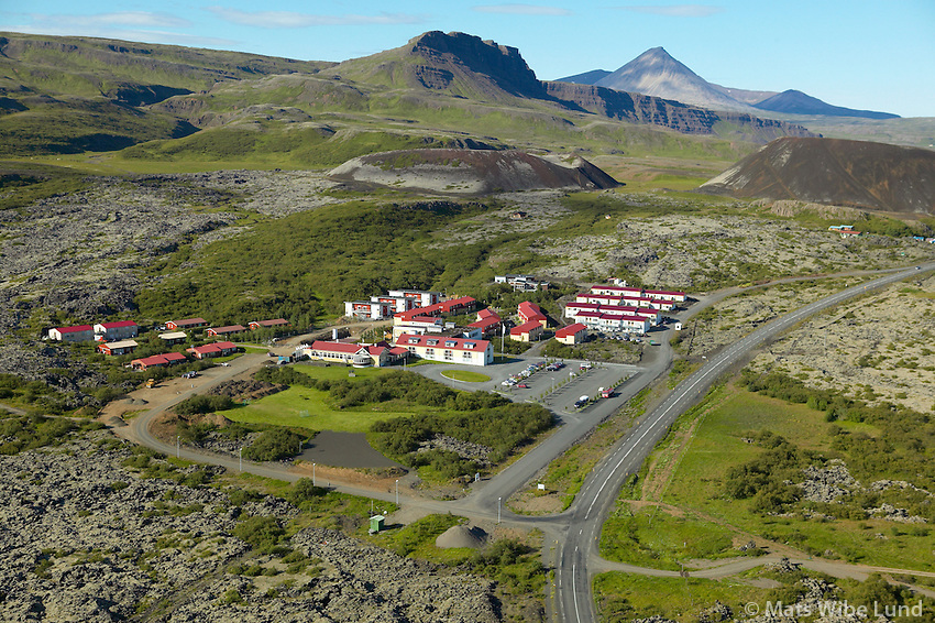 Viðskiptaháskólinn Bifröst, Norðurárdalshreppur /..Bifrost university and summer hotel, Nordurardalshreppur