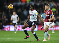 Bolton Wanderers' Clayton Donaldson competing with Aston Villa's James Chester<br /> <br /> Photographer Andrew Kearns/CameraSport<br /> <br /> The EFL Sky Bet Championship - Aston Villa v Bolton Wanderers - Friday 2nd November 2018 - Villa Park - Birmingham<br /> <br /> World Copyright &copy; 2018 CameraSport. All rights reserved. 43 Linden Ave. Countesthorpe. Leicester. England. LE8 5PG - Tel: +44 (0) 116 277 4147 - admin@camerasport.com - www.camerasport.com