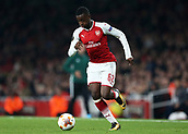 2nd November 2017, Emirates Stadium, London, England; UEFA Europa League group stage, Arsenal versus Red Star Belgrade; Edward Nketiah of Arsenal in action