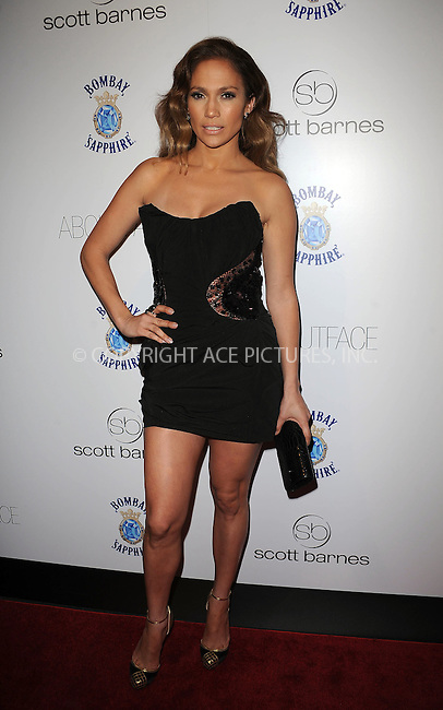 WWW.ACEPIXS.COM . . . . . ....January 20 2010, New York City....Singer and actress Jennifer Lopez arriving at the launch party for Scott Barnes' 'About Face' book at Provocateur at The Hotel Gansevoort on January 20, 2010 in New York City.....Please byline: KRISTIN CALLAHAN - ACEPIXS.COM.. . . . . . ..Ace Pictures, Inc:  ..tel: (212) 243 8787 or (646) 769 0430..e-mail: info@acepixs.com..web: http://www.acepixs.com