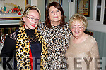 Catriona O'Sullivan, Theresa Murphy and Bernie Roche enjoying the night out in Brogue Inn on Sunday night.