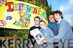 ELDERLY CARE: Students from CBS The Green school are trying to make a difference to the lives of the elderly with Age Bond their YSI project which is helping them to bond with the elderly. Pictured are Nicky Carmody, Shane walsh, Ultan Dillane and Evgen Kalinin..