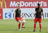 20190227 - LARNACA , CYPRUS :  Belgian Elena Dhont pictured during a women's soccer game between the Belgian Red Flames and Slovakia , on Wednesday 27 February 2019 at the AEK Arena in Larnaca , Cyprus . This is the first game in group C for Belgium during the Cyprus Womens Cup 2019 , a prestigious women soccer tournament as a preparation on the Uefa Women's Euro 2021 qualification duels. PHOTO SPORTPIX.BE | DAVID CATRY