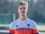 UTRECHT - Justen Blok  yhuisshirtshirt speler Nederlands Hockey Team heren. COPYRIGHT KOEN SUYK