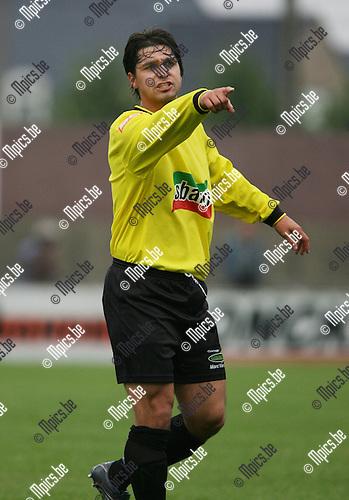 2007-07-28 / Voetbal / Zwarte Leeuw / Gregory Deraeve