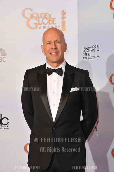 Bruce Willis at the 68th Annual Golden Globe Awards at the Beverly Hilton Hotel..January 16, 2011  Beverly Hills, CA.Picture: Paul Smith / Featureflash
