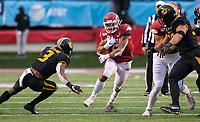 Hawgs Illustrated/BEN GOFF <br /> Rakeem Boyd, Arkansas running back, carries in the fourth qaurter vs Missouri Saturday, Nov. 29, 2019, at War Memorial Stadium in Little Rock.