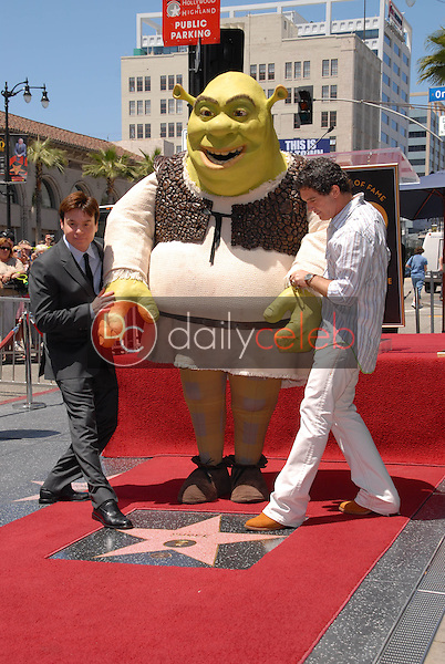 Mike Myers and Antonio Banderas<br />