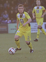 Stephen Mallan in the Ross County v St Mirren Scottish Professional Football League match played at the Global Energy Stadium, Dingwall on 17.1.15.
