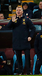 Dean Smith manager of Aston Villa signals five during the Premier League match at Villa Park, Birmingham. Picture date: 12th January 2020. Picture credit should read: Darren Staples/Sportimage