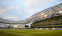 08/10/2015; UEFA Euro 2016 Group D Qualifier - Republic of Ireland v Germany, Aviva Stadium, Dublin. <br /> General view of the Aviva Stadium ahead of the game.<br /> Picture credit: Tommy Grealy/actionshots.ie.