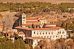 Monastery Santa María del Parral on the edge of Segovia, Spain