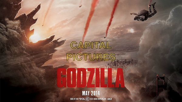 POSTER ART<br /> in Godzilla (2014) <br /> *Filmstill - Editorial Use Only*<br /> CAP/NFS<br /> Image supplied by Capital Pictures
