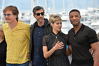 Michael Shannon, Ramin Bahrani, Sofia Boutella &amp; Michael B. Jordan at the photocall for &quot;Farenheit 451&quot; at the 71st Festival de Cannes, Cannes, France 12 May 2018<br /> Picture: Paul Smith/Featureflash/SilverHub 0208 004 5359 sales@silverhubmedia.com