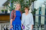 Lorraine Byrne,Listowel and Maureen Scannell,Ballybeggan,Tralee. at Fashion Soirée Ladies Day Fashion and Autumn Winter 2015 Collection In aid of Kerry Cancer Support Group at Manor West Hotel on Friday