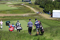 Harry Ellis (AM)(ENG) walks off the 15th tee during Thursday's Round 1 of the 118th U.S. Open Championship 2018, held at Shinnecock Hills Club, Southampton, New Jersey, USA. 14th June 2018.<br /> Picture: Eoin Clarke | Golffile<br /> <br /> <br /> All photos usage must carry mandatory copyright credit (&copy; Golffile | Eoin Clarke)