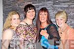Cornelia Lawlor, Liz Walichnovska, Irene Hurley and Mairead Moynihan Killarney enjoying the Kerry Fashion Week fashion show in Jack's restaurant Cromane on Thursday evening..