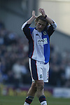 Tugay of Blackburn - Blackburn Rovers v Arsenal - Premier League - Ewood Park Stadium - Blackburn - 15th March 2003 - Pics Simon Bellis