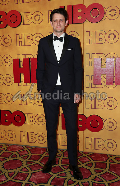 17 September 2017 - Los Angeles, California - Zach Woods. HBO Post Award Reception following the 69th Primetime Emmy Awards held at the Pacific Design Center. Photo Credit: PMA/AdMedia