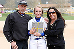 Samantha Bell at the Sophomore Day celebration after the first game of the Western Nevada College softball doubleheader on Saturday, April 30, 2016 at Pete Livermore Sports Complex. Photo by Shannon Litz/Nevada Photo Source