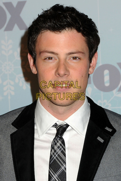 13 July 2013 - Vancouver, British Colombia, Canada - Glee star Cory Monteith was found dead Saturday in his hotel room at the Fairmont Pacific Rim Hotel in Vancouver. He was 31. The cause of death was not immediately apparent. An autopsy was set for Monday. According to police, there were no indications of foul play. They would not discuss what, if anything, was found in room. File Photo: 11 January 2011 - Pasadena, California - Cory Monteith. 2011 Fox All-Star Party held at Villa Sorriso. <br /> CAP/ADM/BP<br /> &copy;Byron Purvis/AdMedia/Capital Pictures