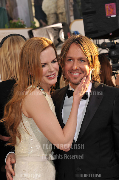 Nicole Kidman & Keith Urban at the 68th Annual Golden Globe Awards at the Beverly Hilton Hotel..January 16, 2011  Beverly Hills, CA.Picture: Paul Smith / Featureflash