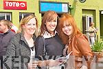 Siobhain, Muireann and Susan Ahern Faha at the Killarney Races on Sunday