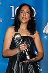 "LOS ANGELES, CA. - February 12: Director Gina Prince-Bythewood poses with her Outstanding Directing in a Motion Picture award for ""The Secret Life of Bees"" in the press room for the 40th NAACP Image Awards at the Shrine Auditorium on February 12, 2009 in Los Angeles, California."