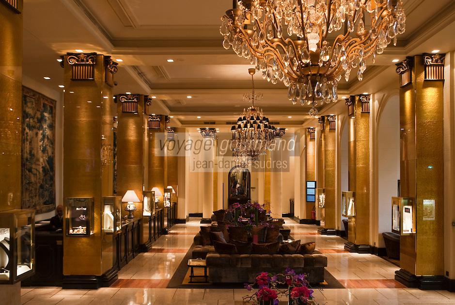 Europe/France/Provence-Alpes-Côte d'Azur/06/Alpes-Maritimes/Cannes: Hall de l'Hôtel Majestic à Cannes