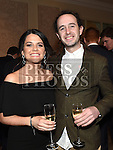Conor and Ciara Farrell at the Baile Atha Fherdia Traders Awards in the Nuremore hotel Carrickmacross. Photo:Colin Bell/pressphotos.ie