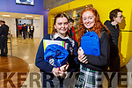 Hannah Grealish and Edel Campion from Presentation Secondary School Tralee at the IT Tralee's Open Day on Friday Morning.